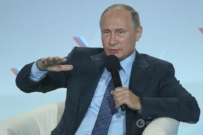 Путин сравнил оккупацию Крыма с событиями в Косово и Каталонии