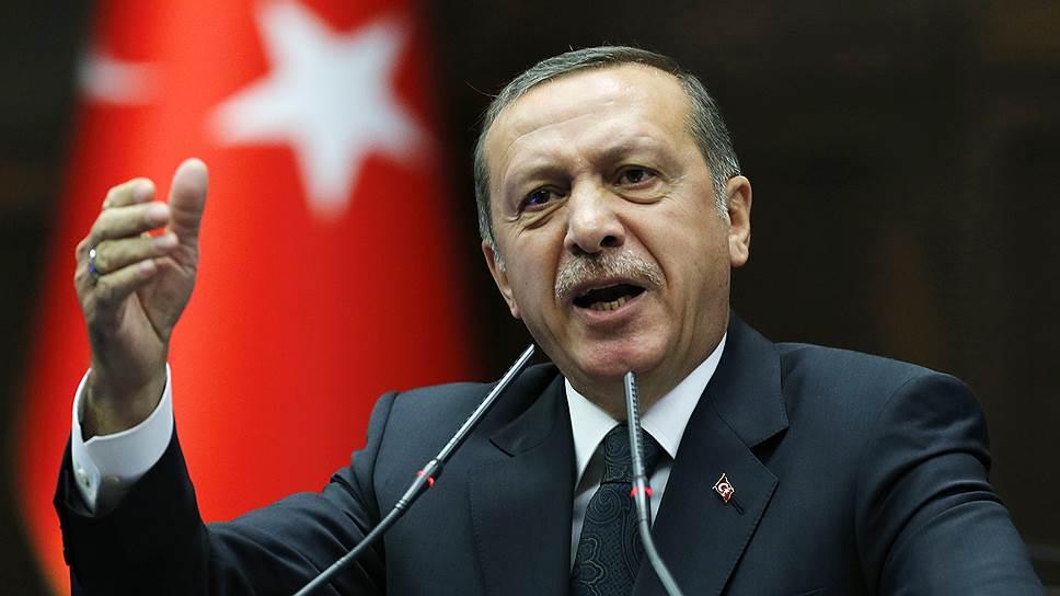 Эрдоган обвинил Запад в поддержке терроризма