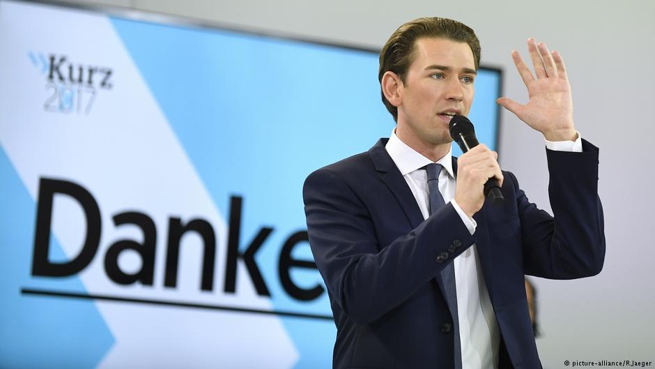 Победитель выборов в Австрии начал коалиционные переговоры с ультраправыми