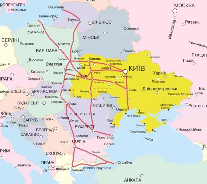 Польша и Украина намерены реализовать серьезные транспортные проекты