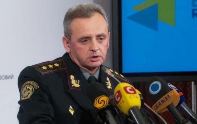 Муженко сказал, что обсудил с Порошенко свою отставку