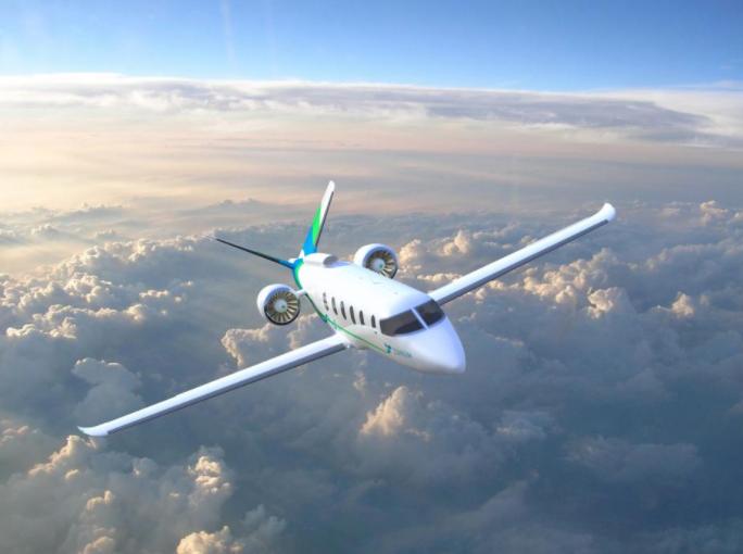 Самолет Zunum с электродвигателями сделает цену перелетов на 80% дешевле