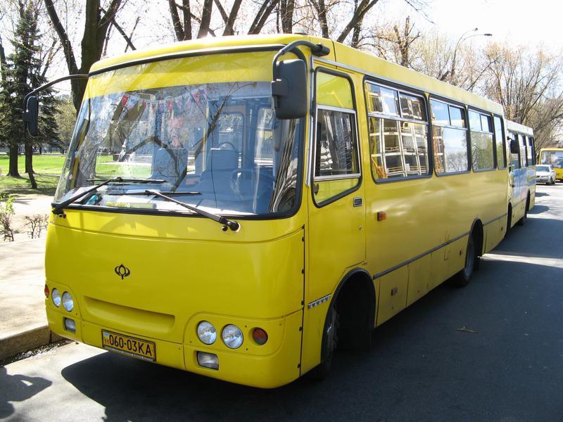 Киевские маршрутки запретят, чтобы освободить место для авто