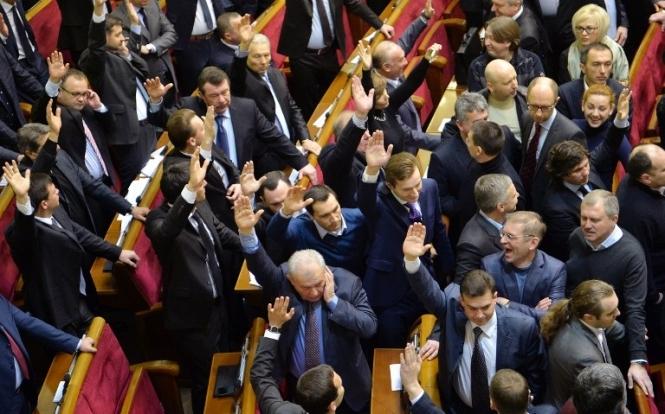 Законопроект Порошенко по Донбассу прошел первое чтение