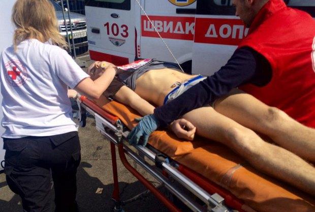 Во время марафона в Киеве умер мужчина