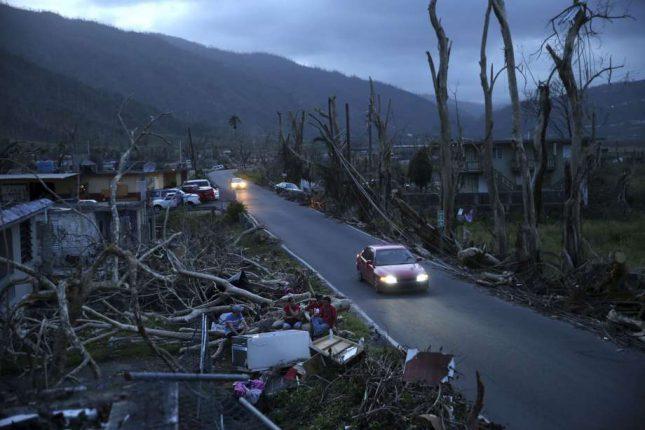Количество погибших в Пуэрто-Рико из-за урагана возросло до 36