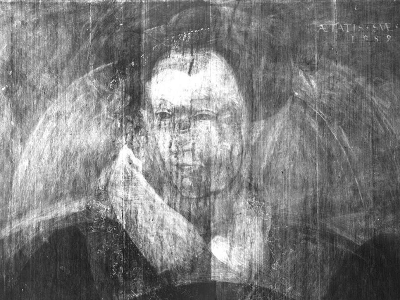 Неизвестный портрет Марии Стюарт нашли с помощью рентгена: Фото