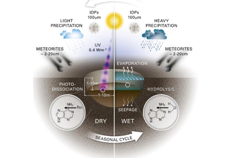 Упавший в водоем метеорит мог стать причиной зарождения жизни на Земле, — ученые