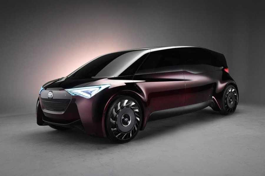 Toyota представит концептуальный водородный микроавтобус
