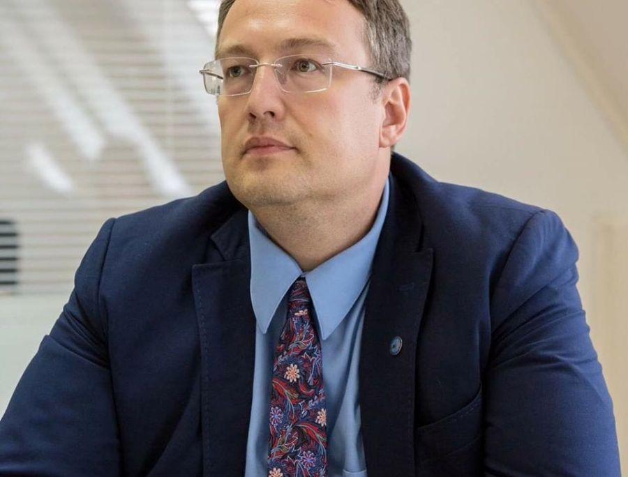 Россиянин пытался сжечь авто Антона Геращенко