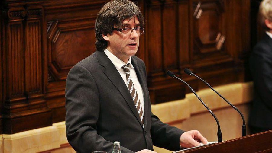Испания выдала европейский ордер на арест Пучдемона, — El Pais