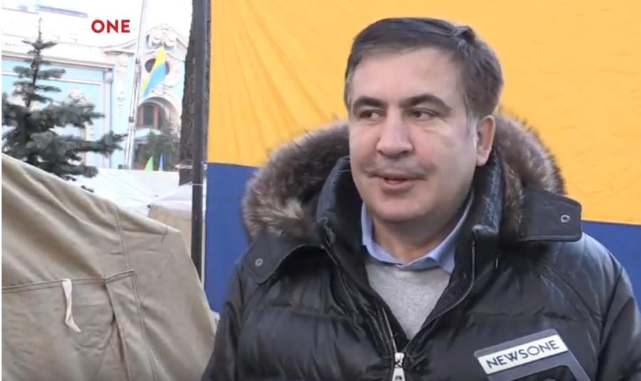 Саакашвили: Если меня похитят и отправят в Грузию, то народ Украины свергнет правительство