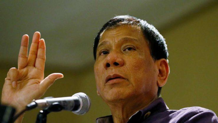 Президент Филиппин похвастался, что убил человека за неправильный взгляд