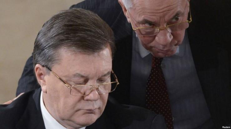 Генпрокуратура вызвала на допрос Януковича, Азаровых и Арбузова