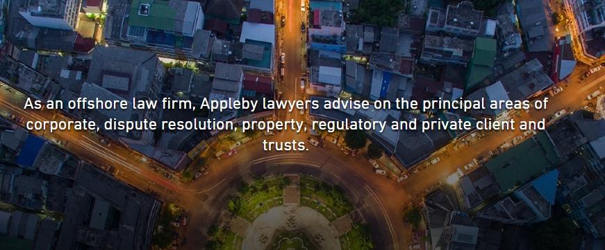 Юридическая компания Appleby прокомментировала публикацию её архива «Paradise Papers»