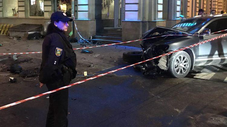 Водителю Volkswagen Touareg сообщили о подозрении по делу смертельного ДТП в Харькове