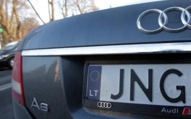 Таможня Литвы начала проверку законности ввоза в Украину авто на еврономерах