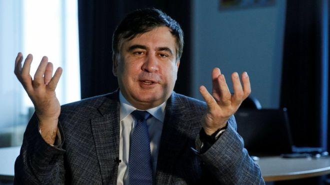 Саакашвили заявил, что его сына задержали в аэропорту Борисполь