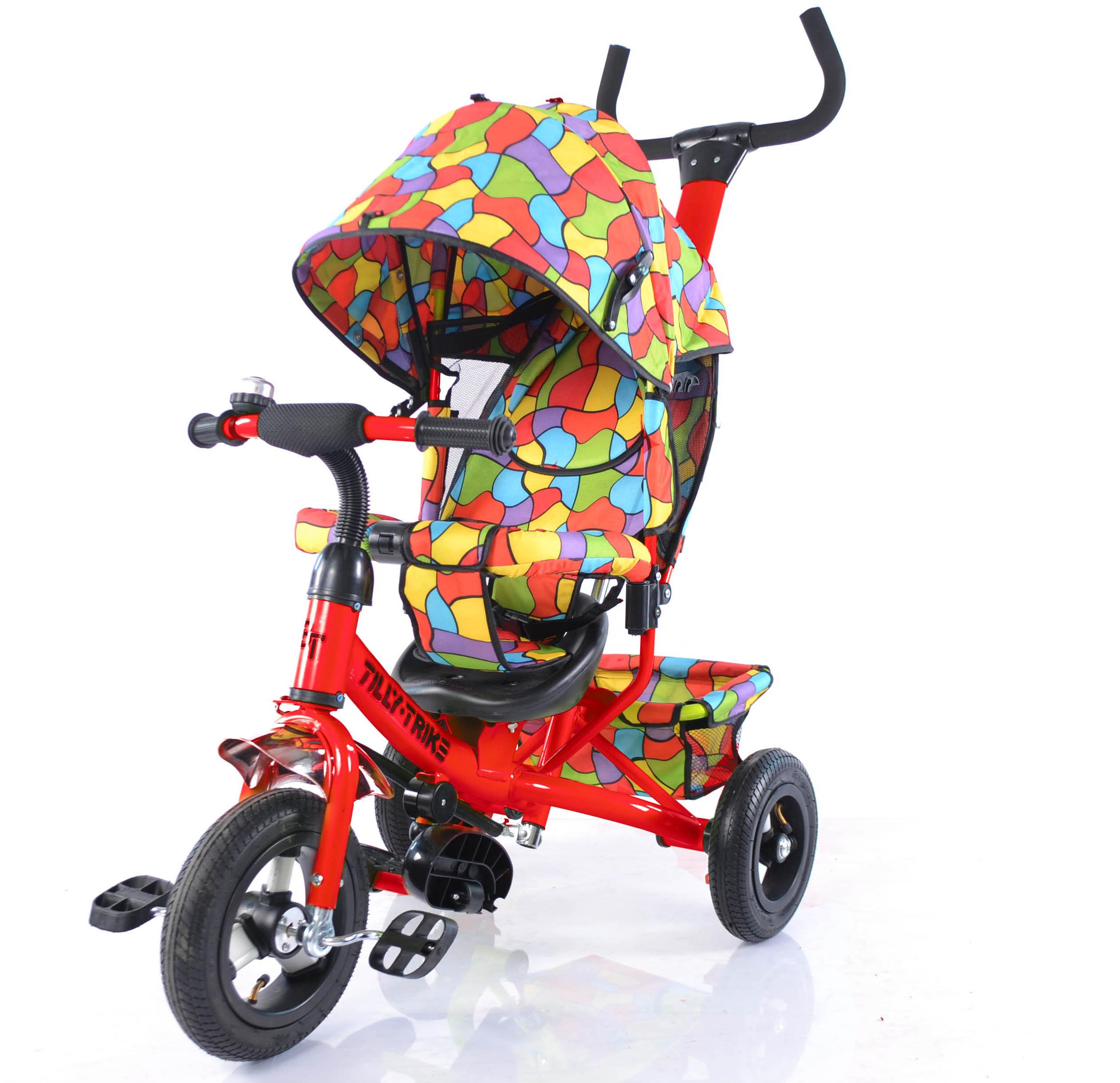 Особенности выбора детских трёхколесных велосипедов
