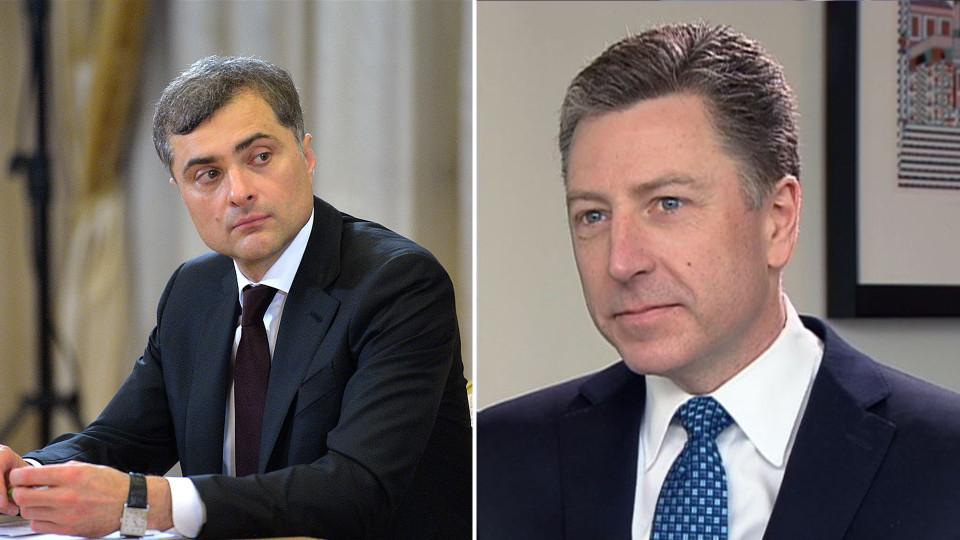 Волкер иСурков обсудят ввод миротворцев наДонбасс еще наодной встрече