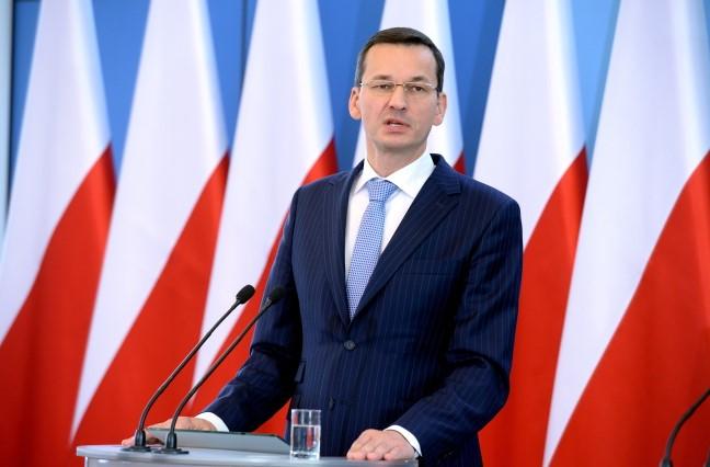 Моравецкий хочет углубить отношения с Украиной