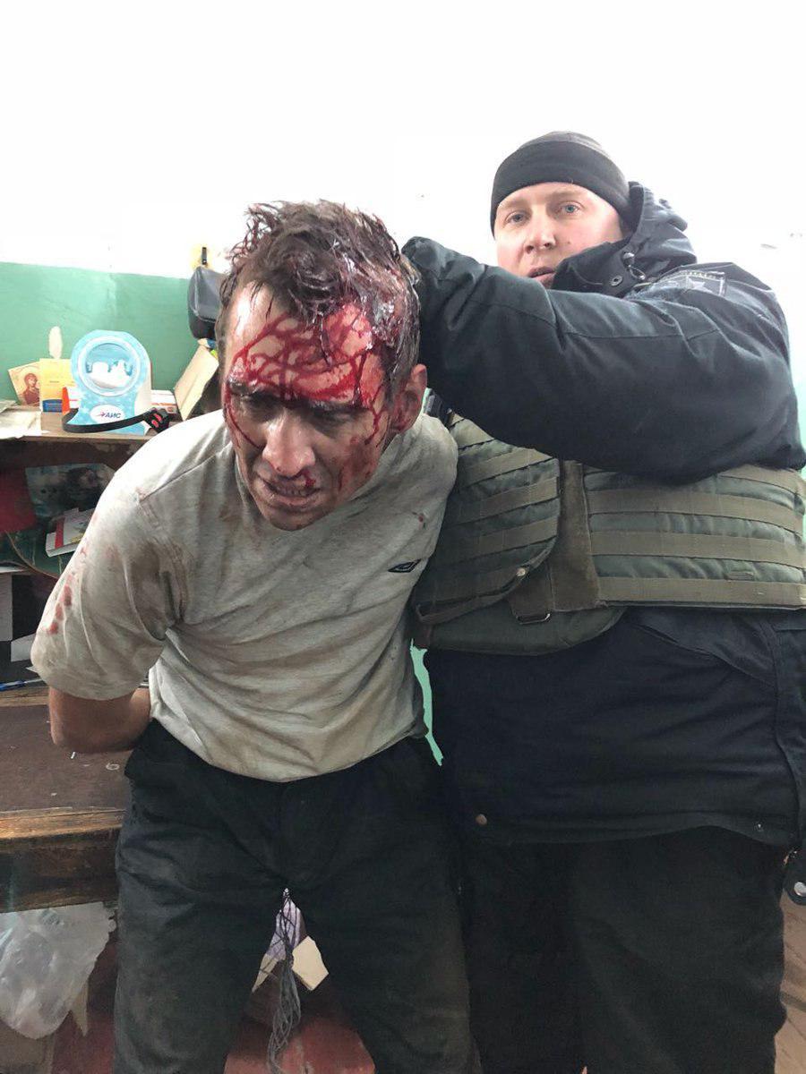 Полиция показала лицо задержанного харьковского террориста