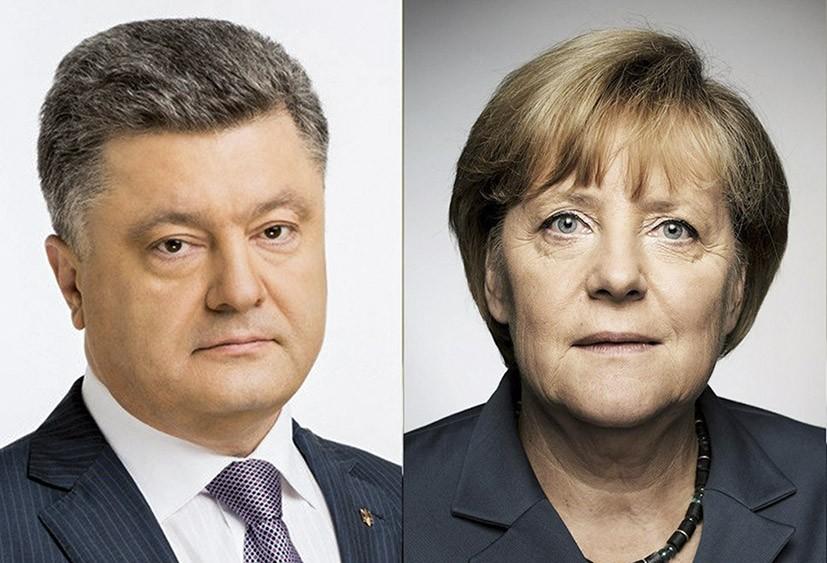 Порошенко и Меркель обсудили освобождения пленных