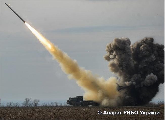 Турчинов рассказал детали испытания ракетного комплекса «Ольха»