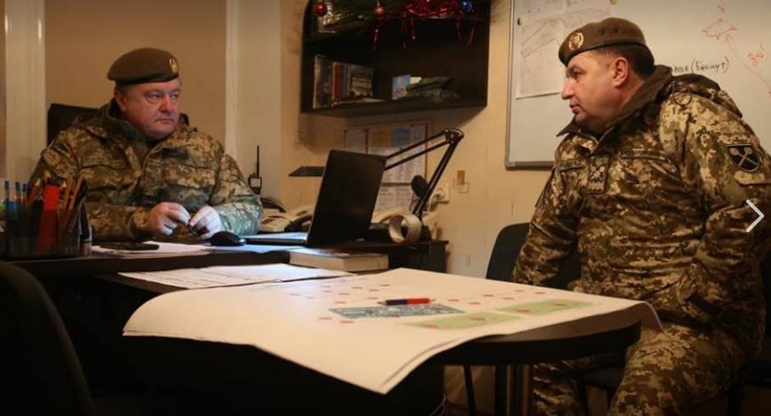 Порошенко: Украина продолжит бороться за каждого заложника