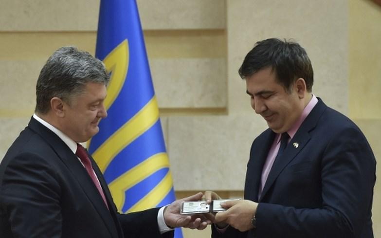 Саакашвили подтвердил, что написал письмо Порошенко