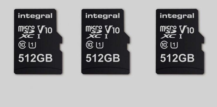 Представлена первая microSD на 512 Гб