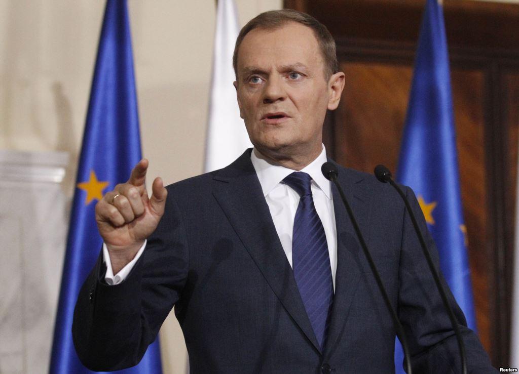 Туск: ЕС и дальше будет поддерживать Украину в противостоянии агрессии России