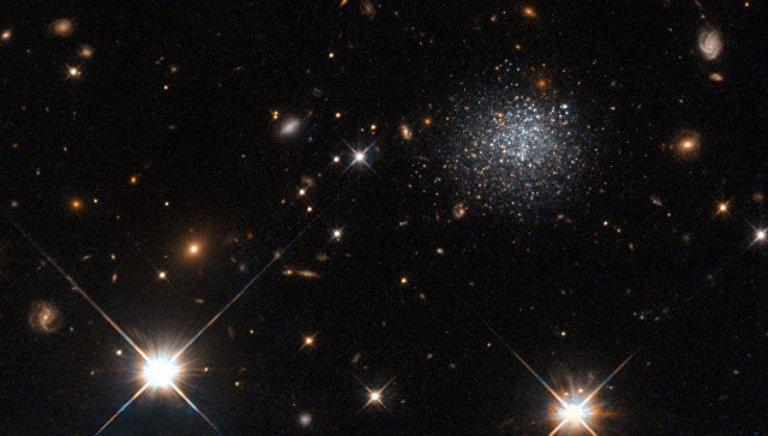 «Хаббл» взвесил самое тяжелое скопление галактик Вселенной
