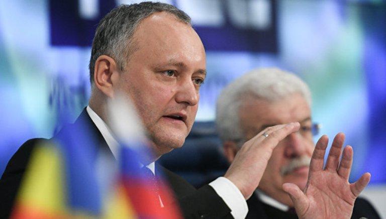 Додон: Молдова исчезнет, если вступит в ЕС