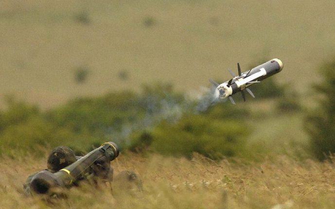Армия Грузии получила от США первые противотанковые ракетные комплексы Javelin