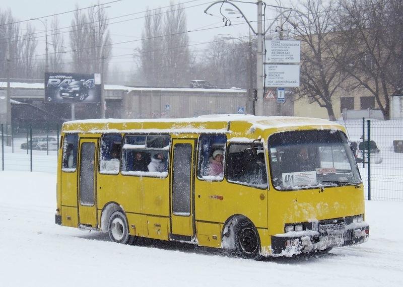 В пригородных маршрутках Киева подорожал проезд