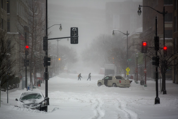 В США волна арктического воздуха понизила температуру до рекордных -73 на горе Вашингтон