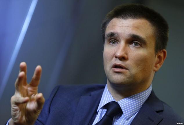 Климкин: Представители ОРДЛО не могут быть включены в состав СЦКК