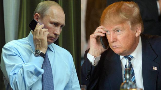 Путин призвал Трампа сделать отношения США и России «прагматичными»