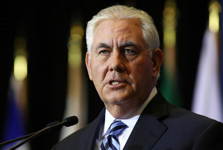 Тиллерсон намерен обсудить с европейскими лидерами ситуацию в Украине