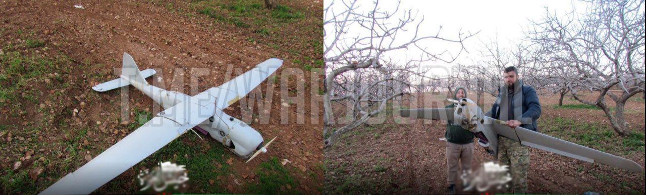 В Сирии сбили российский беспилотник