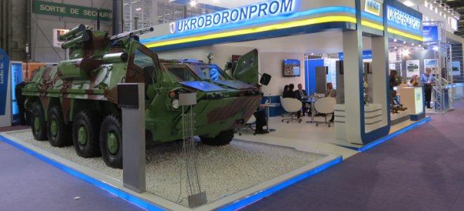 «Укроборонпром» в 2017 году продал вооружения и военной техники на рекордные 3 млрд гривен