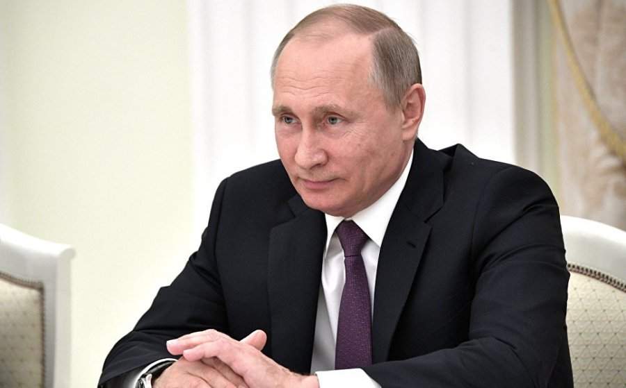 Путин заявил, что Россия готова «передать» Украине ее военную технику из оккупированного Крыма