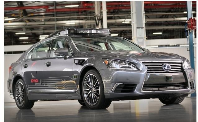 Toyota разработала третью версию своего беспилотного Lexus