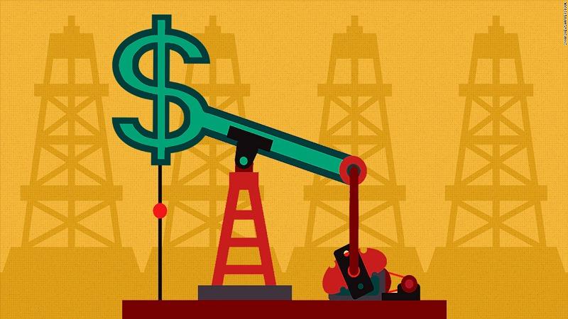Цена на нефть достигла максимума с декабря 2014 года