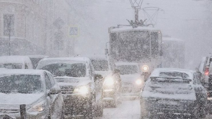В Украину идут сразу два циклона