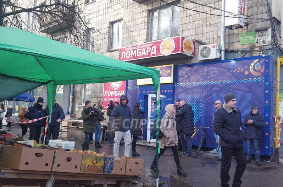 Стрельба в помещении Национальной лотереи в Киеве: стали известны подробности