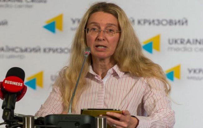 Супрун: В Украине нет эпидемии кори