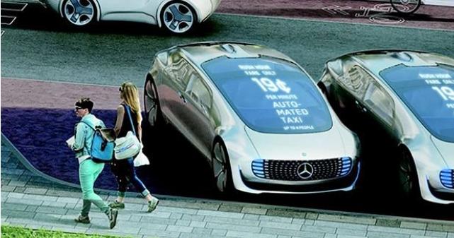 Daimler и Bosch протестируют беспилотные такси