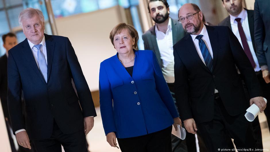 Меркель намерена «держать» правительство все 4 года